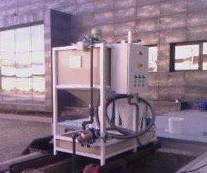 Depuradora físico-química por cargas.