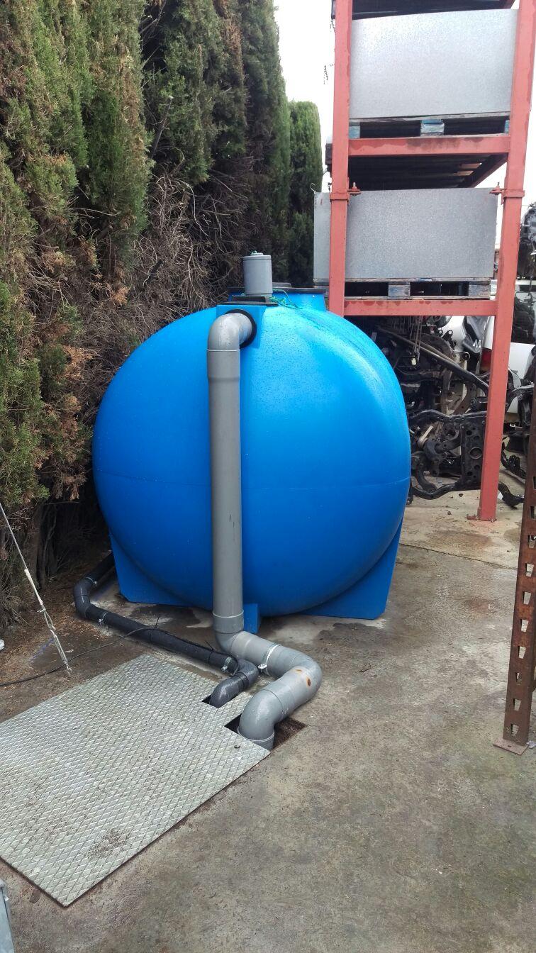 Separador de hidrocarburos clase I 7 L/s