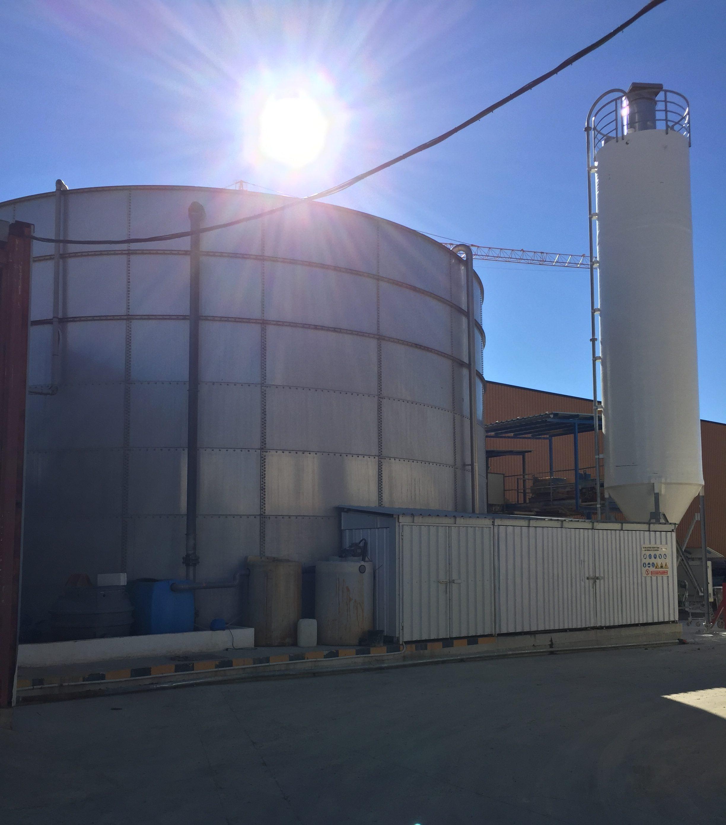 Depuradora industrial 25 m3/h
