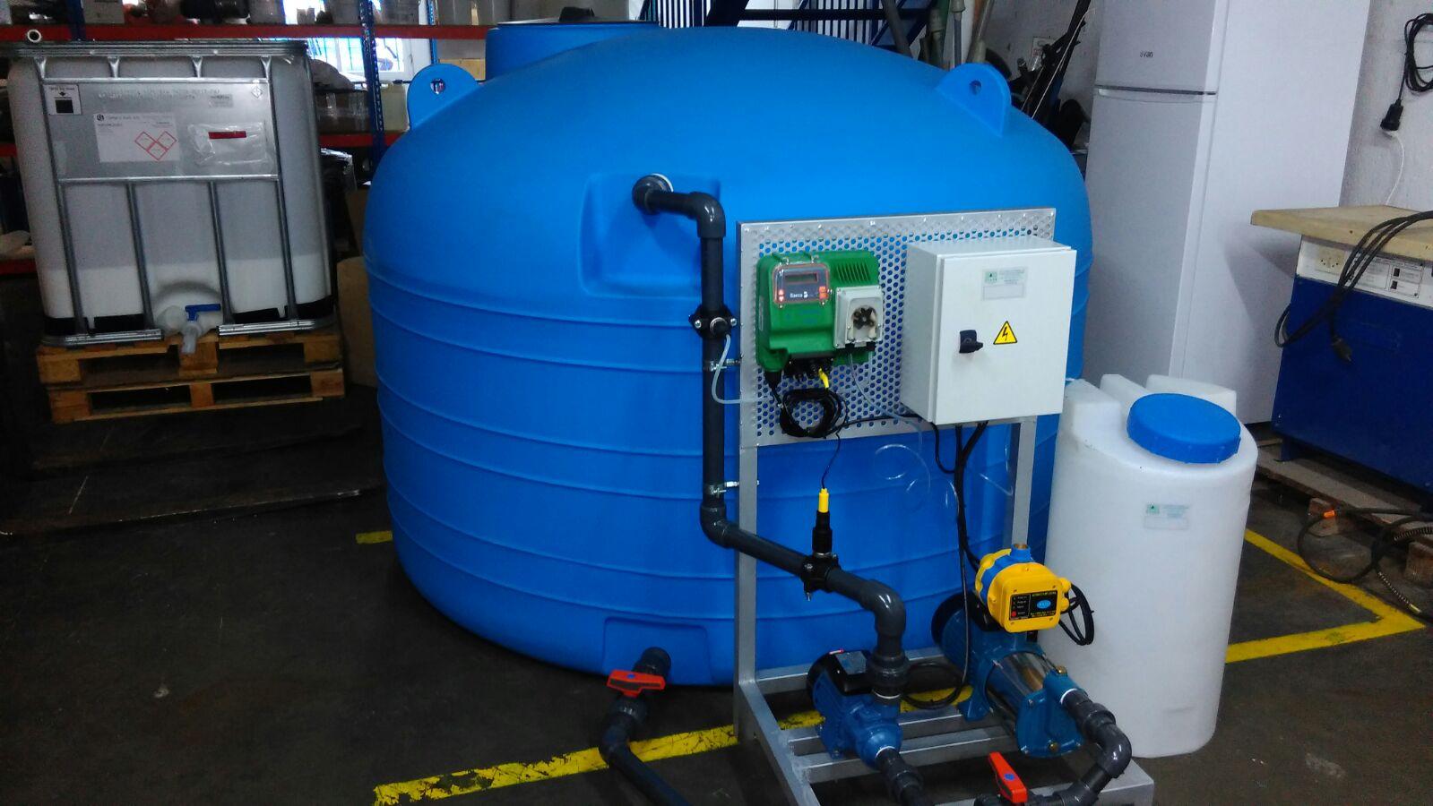 Potabilizadora Agua de Pozo