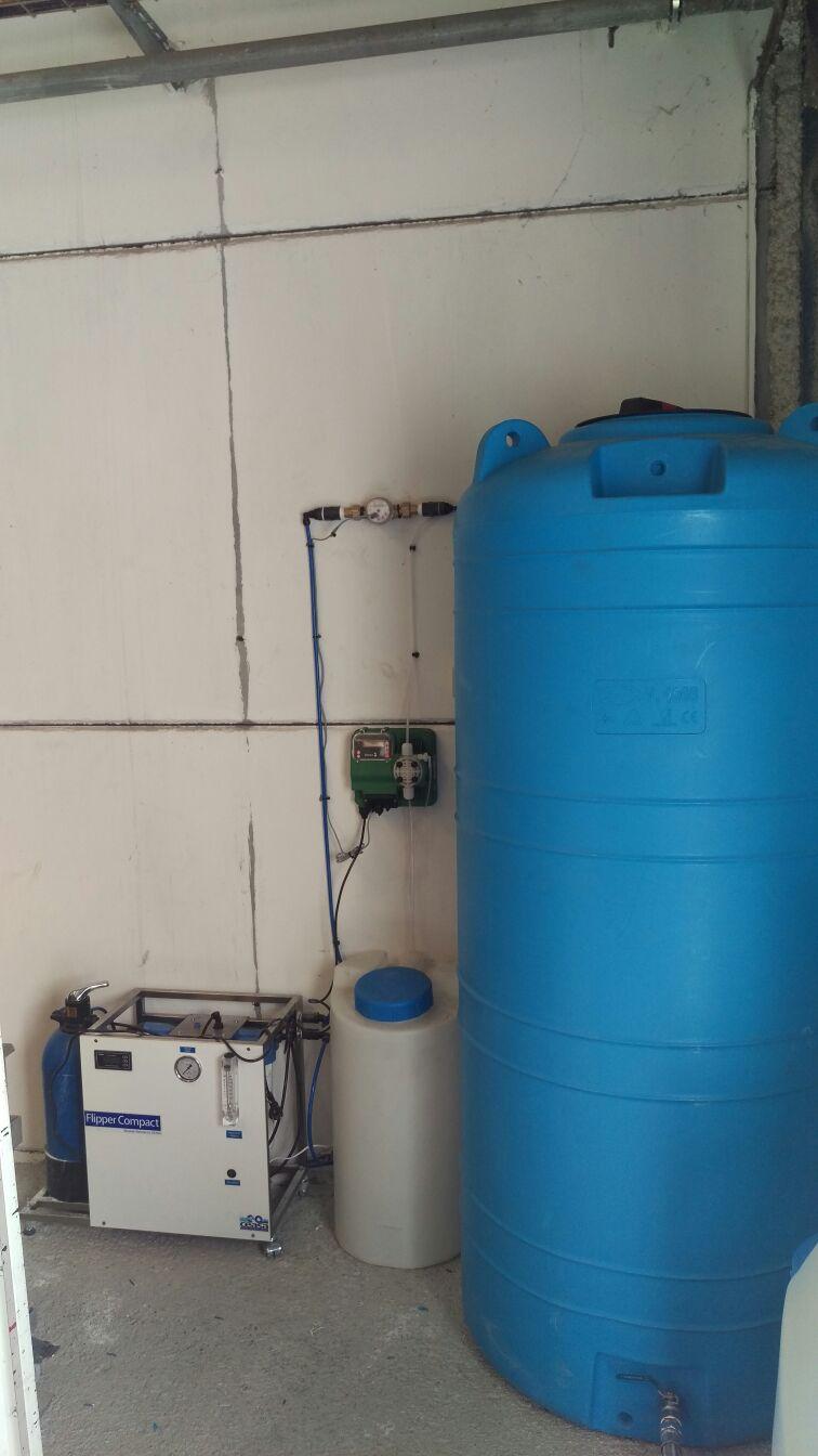 Potabilizadora Agua de Pozo Salobre